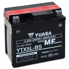 Batteria ORIGINALE Yuasa YTX5L-BS Honda NSR 400 1985