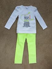 NWT Gymboree girls long sleeve shirt and SKINNY cords outfit set Size 5 CUTE!