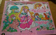 Lady Lovely Locks  Colorforms Playset  Vintage 80's Awesome