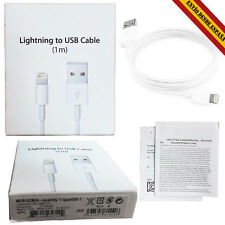 PRECINTADO Cable cargador Lightning a USB iPhone 5/5S/5C/6/6S Plus iPad iPod