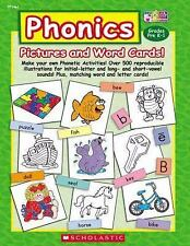 Phonics Pictures and Word Cards!