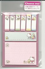 Sanrio Hello Kitty Sticky Notes Tabs From Japan