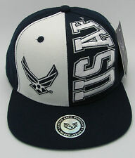 United States U.S. AIR FORCE Snapback Cap Hat USAF Military Rapid Dominance USA