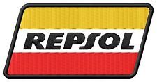 Repsol ecusson brodé patche Thermocollant iron-on patch