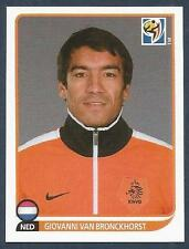 PANINI-SOUTH AFRICA 2010 WORLD CUP- #337-HOLLAND-GIOVANNI VAN BRONCKHORST