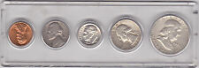 1959-P  5  COIN SET IN HOLDER  (#31-B)