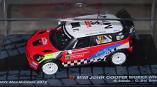 Altaya Mini John Cooper Works WRC 1:43 Diecast Model Monte Carlo Rally 2012 New