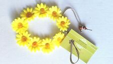 New!! Handmade Yellow  Daisy Headband Daisy Duke Floral Daisy Hairband Crown