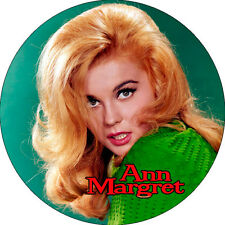 CHAPA/BADGE ANN MARGRET . pin button elvis presley nancy sinatra lee hazlewood