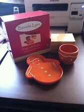 Russ  Bonnie Lynn Ginger in the Kitchen  Cookie Dish and Cup Set