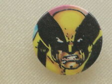 Pinback Button X-Men Wolverine - Marvel Comics - 1""