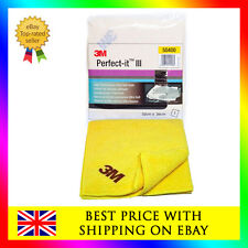 3M 50400 Perfect-it III 1x Ultra Soft yellow cloth for 80349 Extra Fine Compound