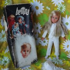 HTF STUNNING Vtg Sebino Bettina Italy Italian Blonde Doll w Orig Clothes & Box
