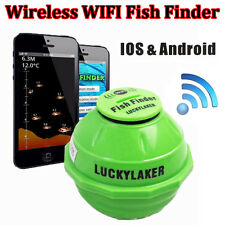 Lucky WI-FI Portatile Sonar Senza fili Ecoscandaglio Fish Finder per Iphone IPAD
