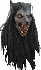 Halloween Costume BLACK MOON WEREWOLF WOLFMAN LATEX DELUXE MASK Haunted House