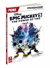 Disney Epic Mickey 2: The Power of Two: Prima Official Game Guide (Prima Officia