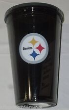 NIP NFL 16 OZ SIP N' GO TRAVEL TUMBLER W/ STRAW - PITTSBURGH STEELERS