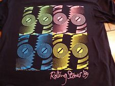 Vtg 80's 1989 The Rolling Stones North American Concert Tour  T-Shirt