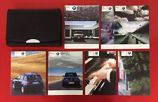 2003 - 2005 BMW X3 Owners Manual Set w/Case X3 2.5 3.0 E83 BMW X3 Owner's Manual