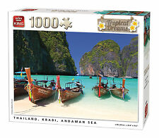 1000 Piece Tropical Dreams Jigsaw Puzzle - THAILAND KRABI ANDAMAN SEA 05381