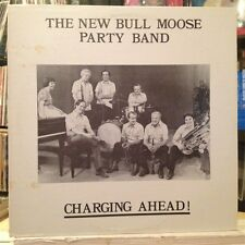 NM LP~The NEW BULL MOOSE PARTY BAND~Charging Ahead!~[1980~ANTLER~Issue]~