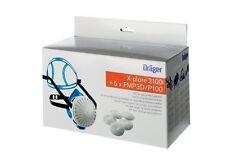 Dräger X-plore 2100 Halbmaske und fünf P3-Filter Set Atemschutz Schutzmaske