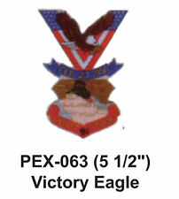"VICTORY EAGLE Embroidered Military Extra Large Patch (5 1/2"")"