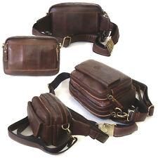 NEW Brown Fanny Waist Pack Passport Bag Travel Bag Shoulder Messenger Bag