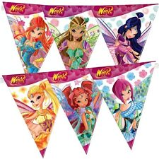 Winx Club - Bloomix - Party Kinder Geburtstag Wimpel Kette Girlande 29 x 360 cm