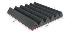 Charcoal Acoustic Foam 6T Wedge Studio Sound proof 6 PCS Foam for Free Shipping