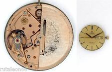 OMEGA cal. 1012 original automatic watch movement working (4332)