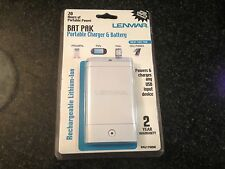 Brand NEw Lenmar Bat pak Portable Charger And Battery (Ipod Adaptor Included)