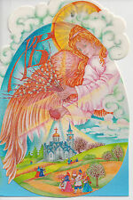 NEW ORTHODOX EASTER PASKHA RUSSIAN BELORUSSIAN UKRAINIAN GREETINGS POST CARD