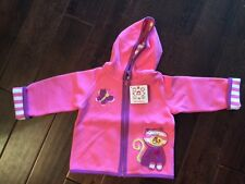 NWT NEW Hanna Andersson Best Ever Toddler Girl Quiltie Jacket Pink Cat 90 3T