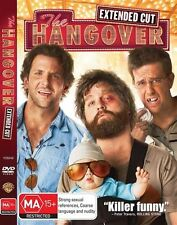 The Hangover (DVD, 2009) Extended Uncut New DVD Region 4 Unsealed