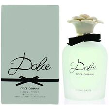 Dolce Floral Drops Perfume by Dolce & Gabbana, 2.5 oz EDT Spray women NEW
