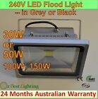 10, 20, 30, 50W, 100W, 150W 240V LED Waterproof Outdoor Warm or Cool Flood Light
