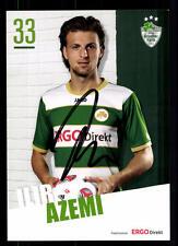 Ilir Azemi Autogrammkarte Greuther Fürth 2012-13 Original Sign+A 109438