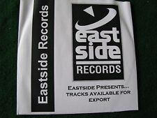 VARIOUS.. Eastside Presents Tracks Available For Export  (8 Track CDR Promo)