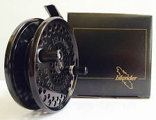 ISLANDER STEELHEADER CENTERPIN FLOAT REEL (BLACK with BLACK HANDLES) **NEW**