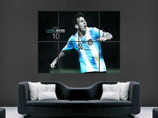 LIONEL MESSI 10 ARGENTINA  FOOTBALL LEGEND  MAGE WALL POSTER ART PRINT LARGE