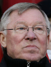 Sir Alex Ferguson UNSIGNED photo - B1847 - Manchester United manager 1986 - 2013