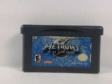 METROID FUSION --- GAMEBOY ADVANCED GBA