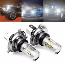 2 X 80W White H4 9003 HB2 Cree LED Fog Light Bulb 1500LM High Low Beam Headlight