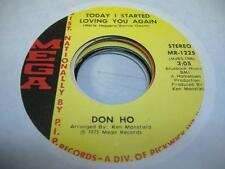 Pop UNPLAYED NM! 45 DON HO Today I Started Loving You Again on Mega