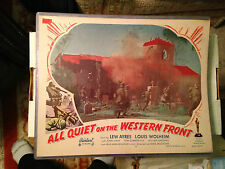 ALL QUIET ON THE WESTERN FRONT-R1950-ORIGINAL MOVIE LOBBY CARD #5 POSTER
