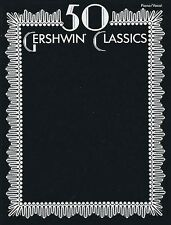 50 Gershwin Classics Sheet Music P V G Composer Collection Book NEW 000694999