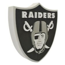 Oakland Raiders NFL Football Official 3D Foam Logo Wall Sign