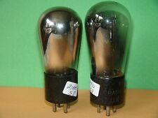 2 RCA Globe #UX-226 Vacuum Tubes Strong Results =  2760 2970