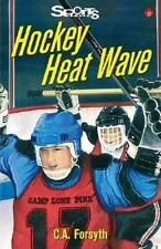 Hockey Heat Wave (Lorimer Sports Stories)-ExLibrary